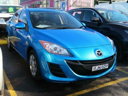 2009 Mazda 3 BL10F1 Neo Activematic Blue 5 Speed Sports Automatic Sedan Minchinbury Blacktown Area Preview