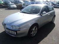 2005 05 ALFA ROMEO 147 2.0 T.SPARK 16V LUSSO 5D 148 BHP **** GUARANTEED FINANCE ****