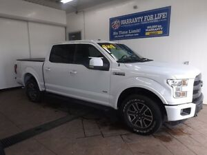 2015 Ford F-150 LARIAT 4X4 SUPERCREW NAVI LEATHER