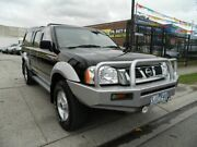 2003 Nissan Navara D22 ST-R (4x4) Black & Silver 5 Speed Manual Dual Cab Pick-up Williamstown North Hobsons Bay Area Preview