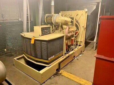Kohler 250 Kw 3 Phase Diesel Generator Power System Detroit Engine 671h Extra