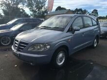 2005 Ssangyong Stavic A100 SV270 Limited AWD Blue 5 Speed Automatic Wagon Campbelltown Campbelltown Area Preview