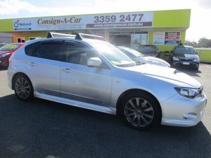 2010 Subaru Impreza G3 MY10 WRX AWD Silver 5 Speed Manual Hatchback Kedron Brisbane North East Preview