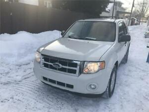 2009 FORD ESCAPE XLT FWD 143 000 KM 3980$ FINANCE MAISON 100% AP
