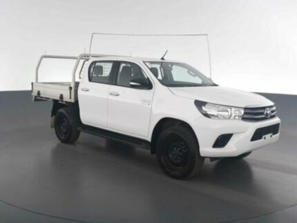 2016 Toyota Hilux GUN126R SR Double Cab White 6 Speed Sports ...
