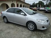 2009 Toyota Corolla ZRE152R MY09 Ascent Silver 4 Speed Automatic Sedan South Nowra Nowra-Bomaderry Preview