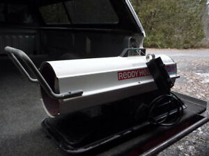 Reddy Heater 40,000 BTU Kerosene construction heater