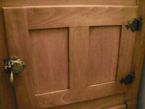 Antique Farmhouse Kitchen Arctic Ice Box Solid Ash Wood Original Kitchener / Waterloo Kitchener Area image 7