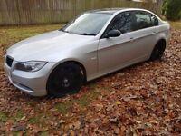 E90 2005 BMW 320d, FACELIFT Model, Superb example, Silver, 140k, 6spd, Manual