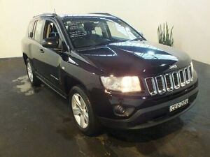 2013 Jeep Compass MK MY12 Sport (4x2) Black Continuous Variable Wagon Clemton Park Canterbury Area Preview