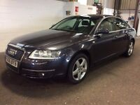 2006 AUDI A6 2.0 TDI SE DIESEL MANUAL EXCELLENT DRIVE 12 MONTHS MOT SALOON NO BMW 5 7 SERIES E CLASS