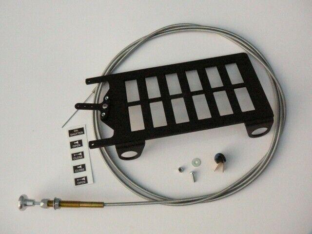 KIT Shutter for Oil Radiator  (for ROTAX 914 UL (115 Hp) engine)