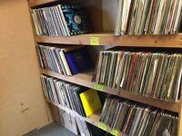 Large vintage vinyl collection