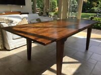 Dining table by Laura Ashley and extends to seat up to 8