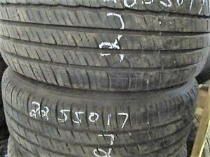 225/50 R17 MICHELIN PRIMACY TIRES USED (SET OF 2) - 90% TREAD