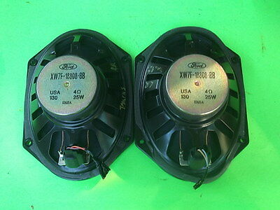 2000 FORD TAURUS RIGHT AND LEFT REAR SPEAKERS XW7F-18808-BB OEM