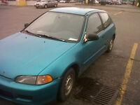 1992 Honda Civic VX - Hatchback