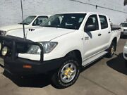 2010 Toyota Hilux KUN26R 09 Upgrade SR (4x4) White 4 Speed Automatic Dual Cab Pick-up Lidcombe Auburn Area Preview