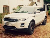 Range Rover Evoque Limited Black Edition (2.4 TD) - HUGE SPEC, FUJI WHITE, FSH