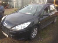Peugot 307 for spares