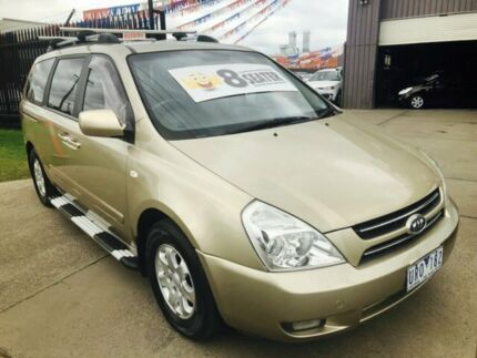 2006 Kia Grand Carnival VQ EX Luxury Gold 5 Speed Automatic Wagon Brooklyn Brimbank Area Preview