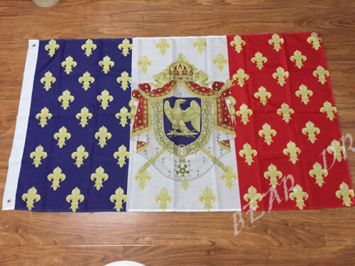 Royal Standard Napoleon France Flag