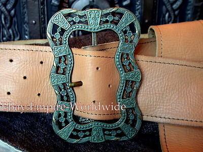 JACK SPARROW Anna Maria waist belt + buckle pirate 3 ,4](Jack Sparrow Belt Buckle)