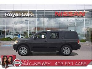 2012 Nissan Armada Platinum **LEATHER AND DVD'S**
