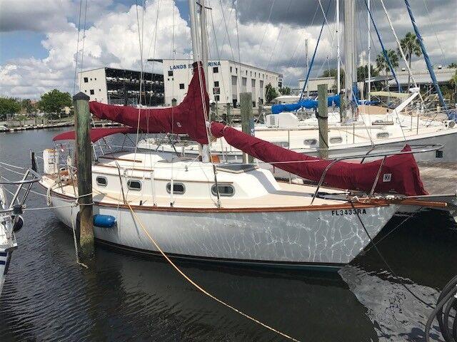 1982 28' Cape Dory Sailboat