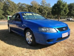 2006 Ford Falcon BF MkII XT Blue 4 Speed Auto Seq Sportshift Sedan Clontarf Redcliffe Area Preview