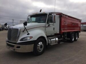 2013 International ProStar +125, Used Grain Truck