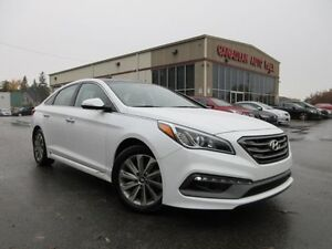 2016 Hyundai Sonata SPORT TECH, NAV, ROOF, LEATHER, 24K!