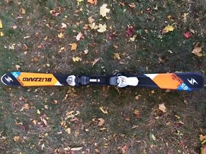 Skis 130 cm Blizzard Racing GS avec Fixations Marker
