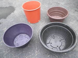 Flower Pots  4 for $5.00