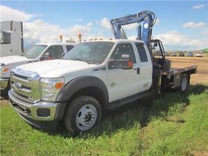 2014 Ford F550 Ext. Cab Crane Truck