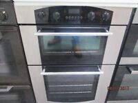*+*+LaMoNa CHROME INTEGRATED DOUBLE OVEN/FULLY RECONDITIONED/VERY CLEAN/+UPLIFT