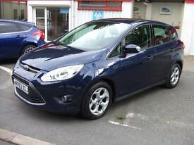 Ford C-MAX 1.6TDCi 115ps Zetec Mpv Estate Focus B Max Diesel Car £30 Tax,14 K