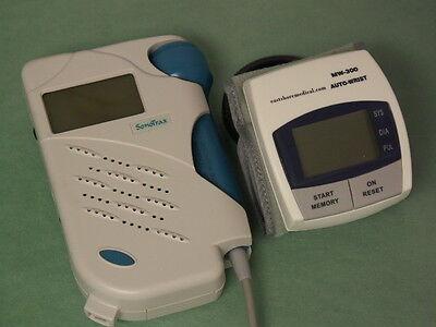Sonotrax Basic Fetal Heart Doppler 3mhz Wbonus Digital Blood Pressure Monitor