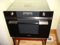SMEG built-in Microwave & Grill £200 ONO