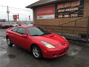 2002 Toyota Celica GT***5 SPEED***SUNROOF***GREAT CONDITION London Ontario image 1