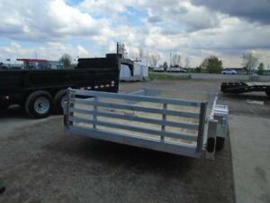 SIDE LOADING ATV/ALL PURPOSE ALUMINUM TRAILER 12' LONG ATP SIDES London Ontario image 4