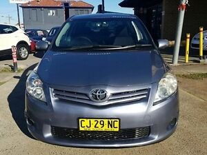 2010 Toyota Corolla ZRE152R MY10 Ascent Tungsten 4 Speed Automatic Hatchback Five Dock Canada Bay Area Preview