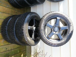 Lexus/Toyota Full Set Winter Rims and Tires