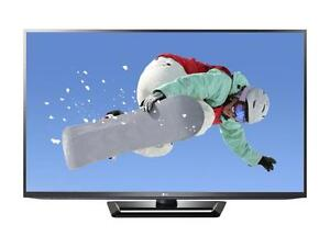 "$999.99 - LG 60"" Class (59.8"" Diag.) 1080P 600 Hz Slim 3D Plasma TV with Smart TV 60P"