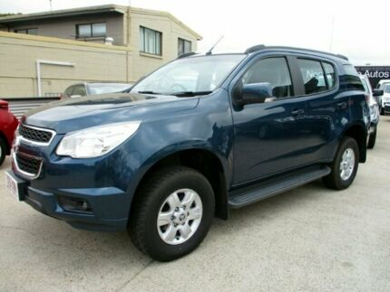2015 Holden Colorado 7 RG MY16 LT Blue 6 Speed Sports Automatic Wagon