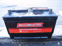 Nearly new CAR battery JUST  for  $50