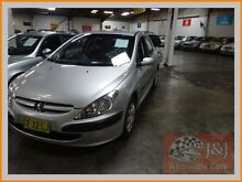 2002 Peugeot 307 1.6 Silver 4 Speed Automatic Hatchback Warwick Farm Liverpool Area Preview
