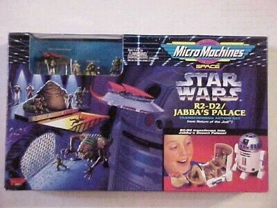 New Sealed Micro Machines Star Wars R2-D2 Jabba's Palace Transforming Playset