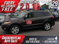 2011 Hyundai Santa Fe Limited AWD-3.5-NAVI-SROOF-S.RECORDS