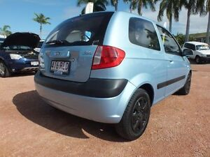 2010 Hyundai Getz TB MY09 S Blue 5 Speed Manual Hatchback Rosslea Townsville City Preview